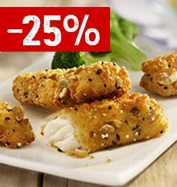 SC. 25% Filettini Multicereali Crispy